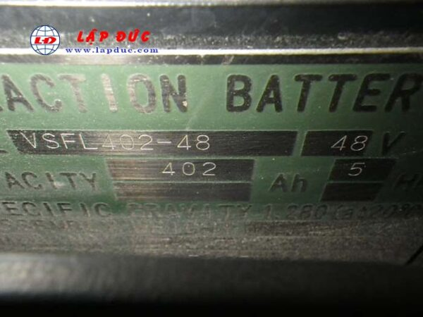 Xe nâng điện ngồi lái cũ KOMATSU 1.5 tấn FB15-12 giá rẻ
