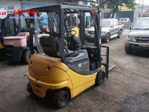 Xe nâng điện KOMATSU 1.5 tấn ngồi lái FB15-12 giá rẻ