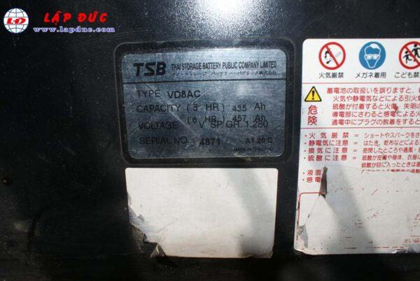 Xe nâng điện ngồi lái 1.5 tấn KOMATSU FB15EX-10