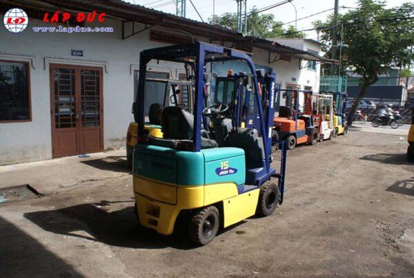 Xe nâng điện ngồi lái cũ KOMATSU 1.5 tấn FB15EX-10 giá rẻ