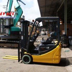 Xe nâng điện ngồi lái KOMATSU 1.5 tấn FB15M-12 giá rẻ