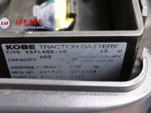 Xe nâng điện ngồi lái 1.5 tấn KOMATSU FB15M-12 5