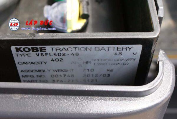 Xe nâng điện ngồi lái 1.5 tấn KOMATSU FB15M-12 2