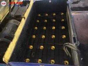 Xe nâng điện ngồi lái 1.5 tấn KOMATSU FB15M-3