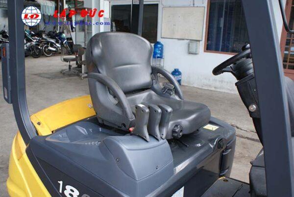 Xe nâng điện ngồi lái 1.8 tấn KOMATSU FB18-12 # 841624