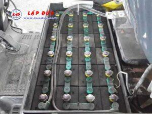 Xe nâng điện ngồi lái 1.8 tấn KOMATSU FB18-12 #841986