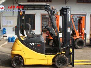 Xe nâng điện ngồi lái cũ KOMATSU 1.8 tấn FB18-12 giá rẻ