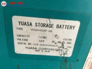 Xe nâng điện ngồi lái cũ 2 tấn KOMATSU FB20EX-5