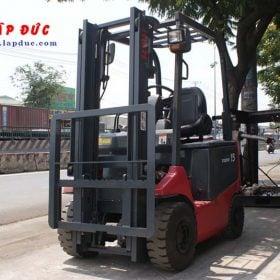 Xe nâng điện ngồi lái 1.5 tấn NICHIYU FB15P-75-300 giá rẻ