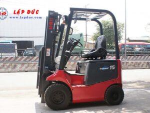Xe nâng điện ngồi lái cũ 1.5 tấn NICHIYU FB15P-75-300 giá rẻ
