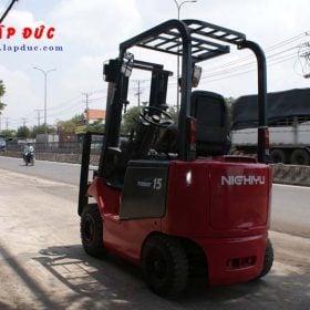 Xe nâng điện ngồi lái NICHIYU 1.5 tấn FB15P-75-300 giá rẻ
