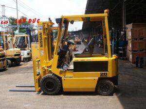 Xe nâng điện ngồi lái 2 tấn NISSAN QP02-003868