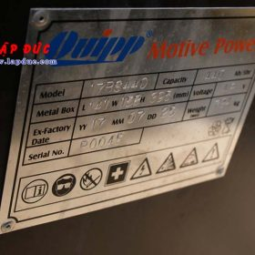Xe nâng điện ngồi lái cũ 2 tấn NISSAN QP02-003868 giá rẻ