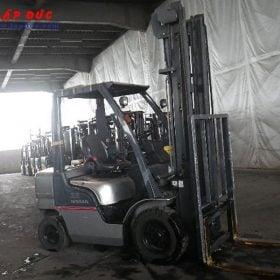 Xe nâng xăng ga cũ 2.5 tấn NISSAN PL02 giá rẻ
