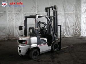 Xe nâng xăng ga cũ NISSAN 2.5 tấn PL02 giá rẻ