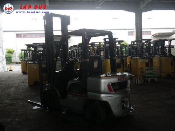 Xe nâng xăng ga NISSAN 2.5 tấn PL02 giá rẻ