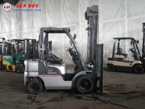 Xe nâng xăng ga 2.5 tấn NISSAN PL02 giá rẻ