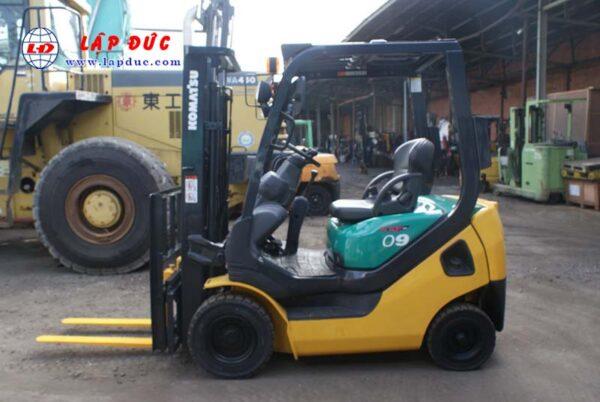 Xe nâng máy xăng KOMATSU 0.9 tấn FG09LC-20 -662704 giá rẻ