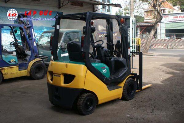 Xe nâng xăng cũ KOMATSU 0.9 tấn FG09LC-20 -662704 giá rẻ