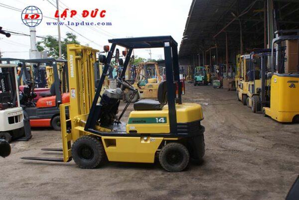 Xe nâng xăng 1.4 tấn KOMATSU FG14-15 # 313631 1