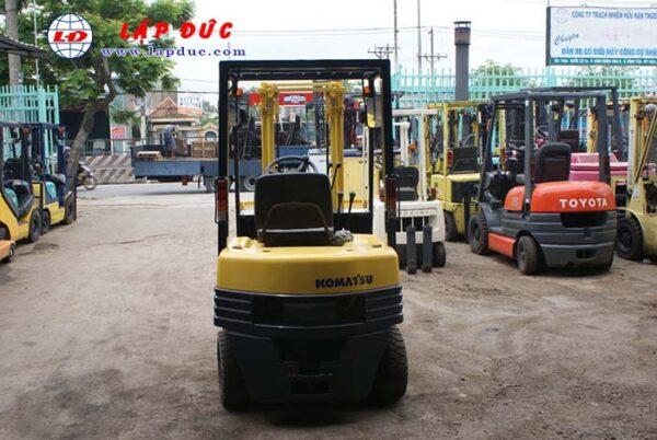 Xe nâng xăng cũ KOMATSU 1.4 tấn FG14-15 # 313631 giá rẻ