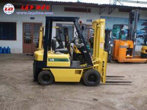 Xe nâng xăng 1.4 tấn KOMATSU FG14-15 # 313631 giá rẻ
