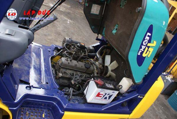 Xe nâng 1.5 tấn máy xăng KOMATSU FG15C-16 # 627135 giá rẻ