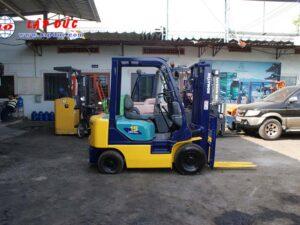 Xe nâng máy xăng KOMATSU 1.5 tấn FG15C-16 # 627135 giá rẻ