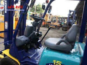 Xe nâng cũ động cơ xăng KOMATSU 1.5 tấn FG15C-16 # 627135 giá rẻ