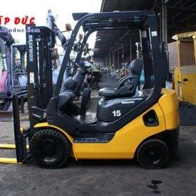 Xe nâng xăng cũ 1.5 tấn KOMATSU FG15C-21 # 201278 giá rẻ