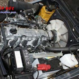 Xe nâng KOMATSU máy xăng 1.5 tấn FG15C-21 # 201278 giá rẻ
