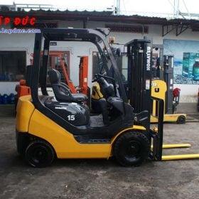 Xe nâng xăng cũ KOMATSU 1.5 tấn FG15C-21 # 201278 giá rẻ