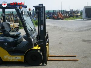 Xe nâng xăng 1.5 tấn KOMATSU FG15C-21 3