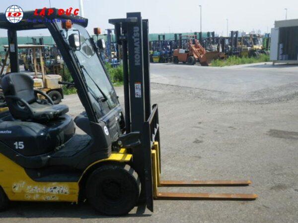 Xe nâng xăng 1.5 tấn KOMATSU FG15C-21 1