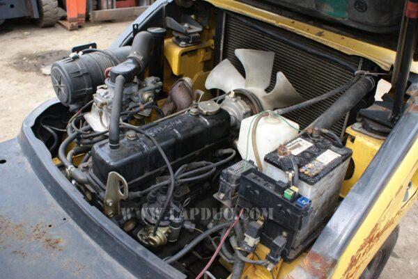 Xe nâng cũ động cơ xăng KOMATSU 1.5 tấn FG15LC-18 giá rẻ