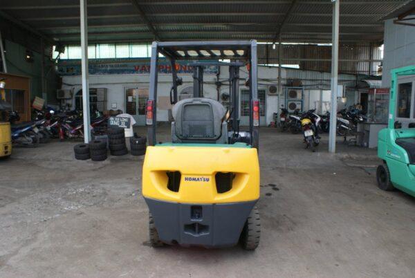 Xe nâng cũ động cơ xăng KOMATSU 1.5 tấn FG15LC-20 # 653597 giá rẻ