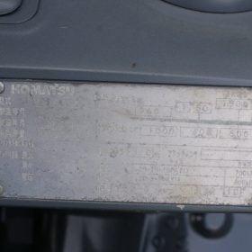 Xe nâng 1.5 tấn xăng KOMATSU FG15LC-20 # 653597 giá rẻ