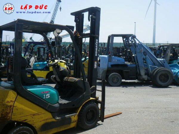 Xe nâng xăng KOMATSU 1.5 tấn FG15T-20 # 664508 giá rẻ
