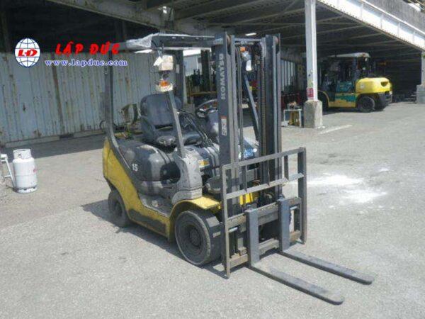 Xe nâng xăng cũ 1.5 tấn KOMATSU FG15T-20 #672366 giá rẻ