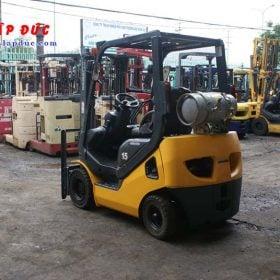 Xe nâng xăng cũ 1.5 tấn KOMATSU FG15T-20 # 672366 giá rẻ