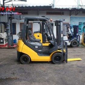 Xe nâng xăng KOMATSU 1.5 tấn FG15T-20 # 672366 giá rẻ