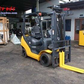 Xe nâng máy xăng KOMATSU 1.5 tấn FG15T-20 # 672366 giá rẻ