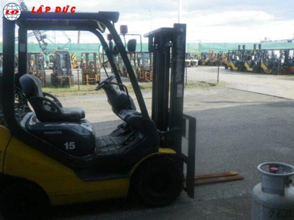 Xe nâng xăng 1.5 tấn KOMATSU FG15T-21Xe nâng động cơ xăng KOMATSU FG15T-21# 201257 giá rẻ
