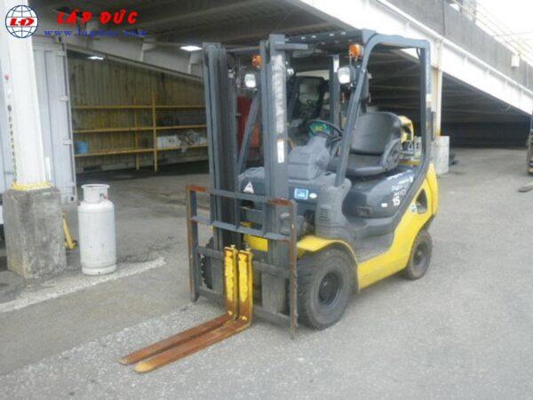 Xe nâng xăng 1.5 tấn KOMATSU FG15T-21Xe nâng xăng cũ KOMATSU 1.5 tấn FG15T-21# 201257 giá rẻ
