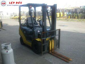 Xe nâng xăng 1.5 tấn KOMATSU FG15T-21# 201257 giá rẻ
