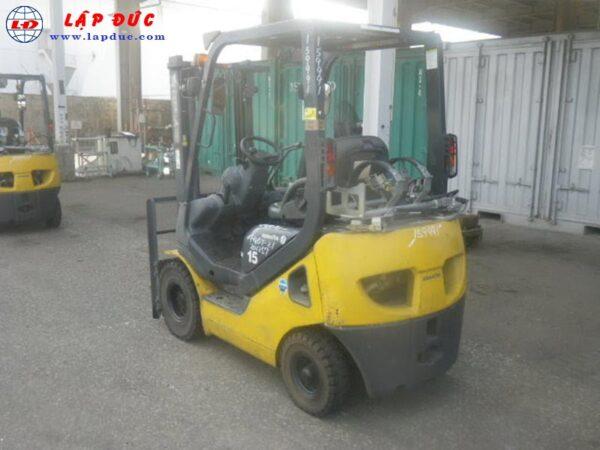 Xe nâng máy xăng KOMATSU 1.5 tấn FG15T-21# 201257 giá rẻ