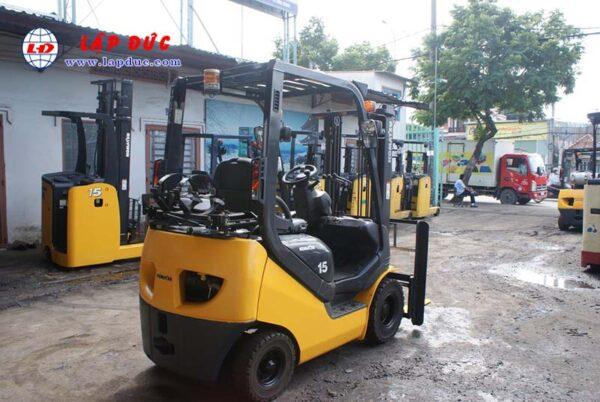 Xe nâng xăng 1.5 tấn KOMATSU FG15T-21 # 203948 giá rẻ