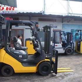 Xe nâng xăng cũ KOMATSU 1.5 tấn FG15T-21 # 203948 giá rẻ