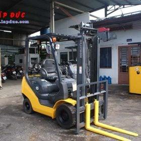 Xe nâng cũ động cơ xăng KOMATSU 1.5 tấn FG15T-21 # 203948 giá rẻ