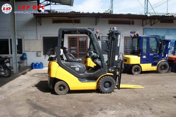 Xe nâng xăng cũ KOMATSU 1.8 tấn FG18T-20 # 672555 giá rẻ